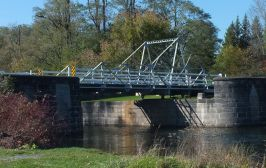 Historic Swing Bridge, Burritts Rapids